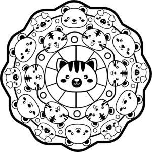 Mandalas Para Niños Imprime Mandalas
