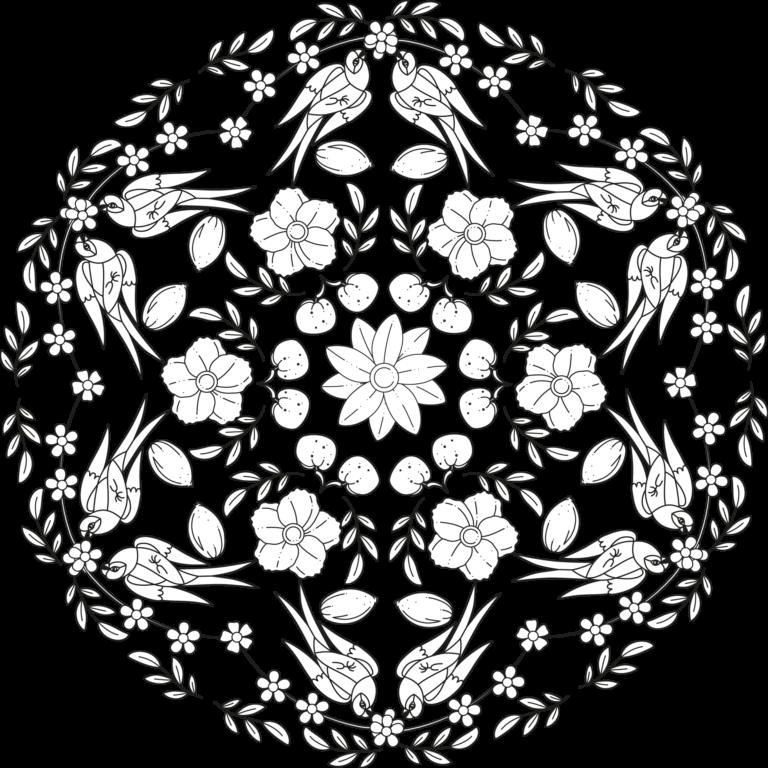 Image Of Libro De Mandalas De Flores Para Colorear Pdf
